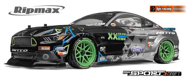 Ripmax RS4 Sport 3 Drift VGJR Mustang