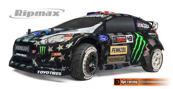 Ripmax WR8 Flux KenBlock GYM8 Ford Fiesta ST