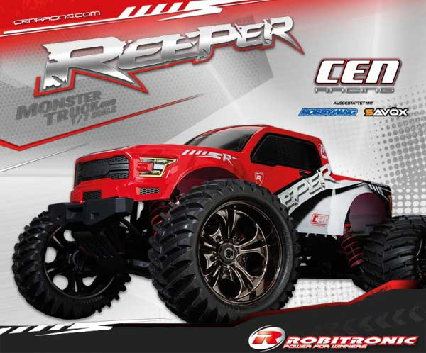 Robitronic REEPER 4WD Monster Truck  1/7