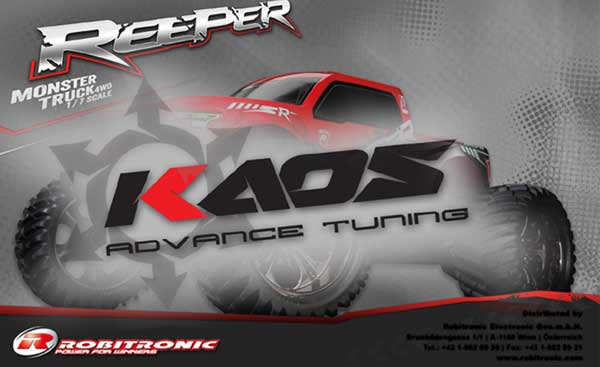 Robitronic KAOS - Advance Tuning