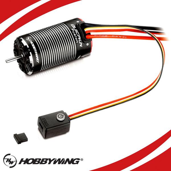 Robitronic Hobbywing Quicrun Fusion Combo
