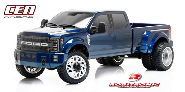 Robitronic CEN Ford F450 SD Blau 4WD 1/10 RTR