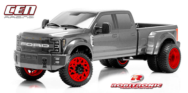 Robitronic CEN Ford F450 SD Grau 4WD 1/10 RTR