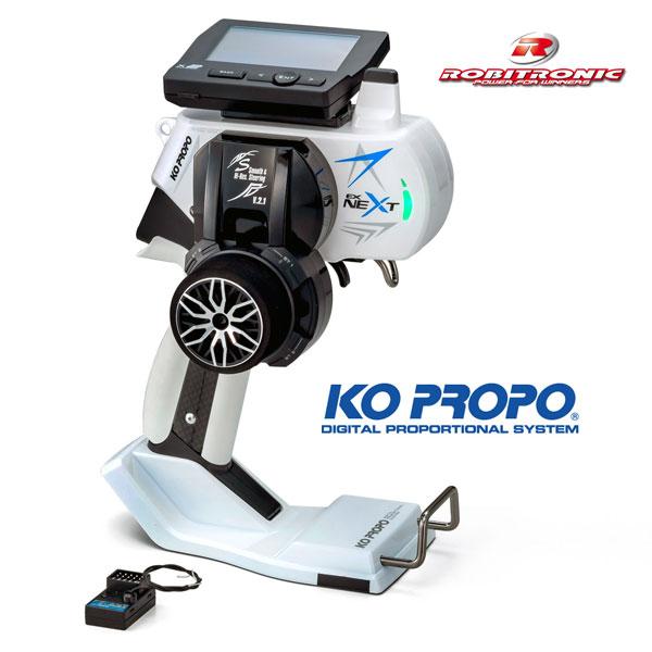 Robitronic KoPropo EX-NEXT mit KR-420XT Empf.