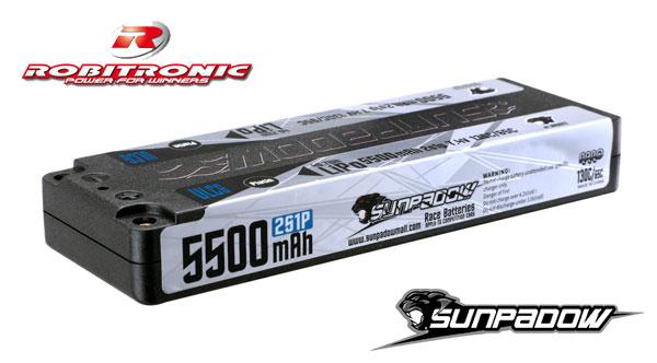 Robitronic Sunpadow Platin 5500mAh 130C/65C