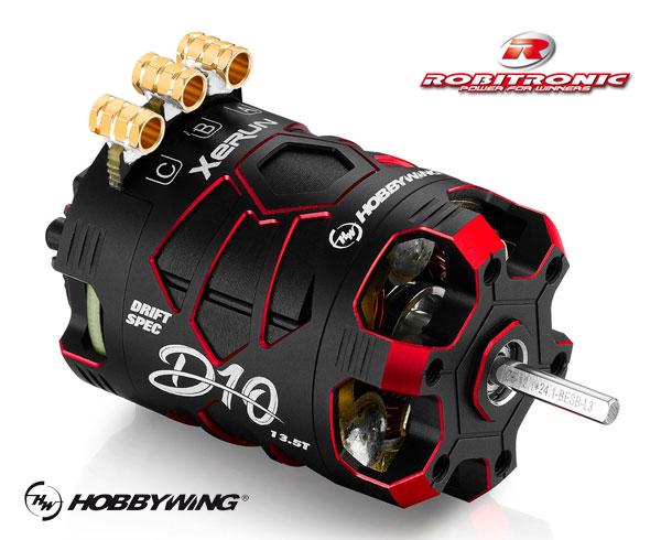 Robitronic Xerun D10 BL Drift Motor 13.5T