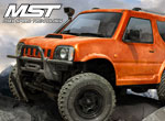 Robitronic MST CMX J3 Crawler RTR Orange