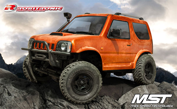 Robitronic MST CMX J3 Crawler RTR Orange
