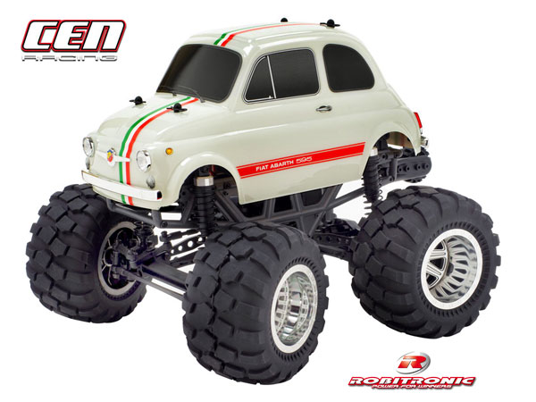 Robitronic CEN Fiat Abarth 595 MT 2WD 1/12