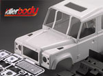 Robitronic Killerbody D90 Hardbody Kunststoff Kit