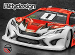 RUDDOG Distribution Bittydesign JP8HR 190mm TC Body