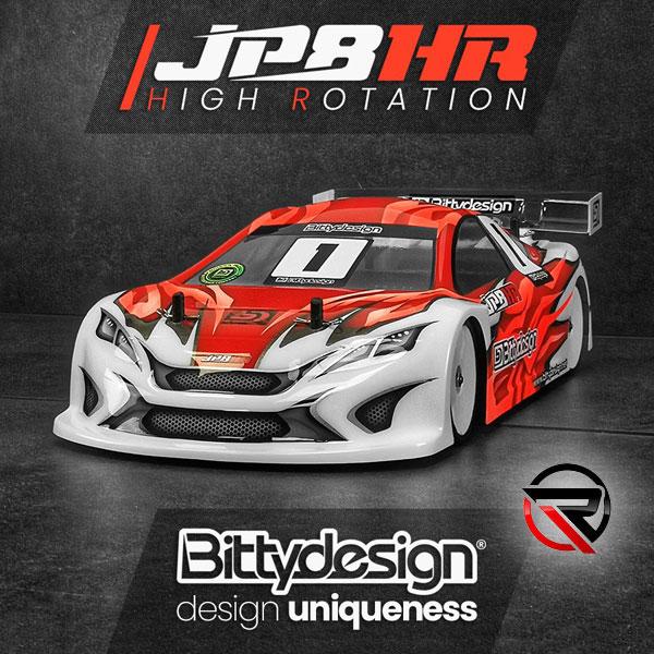 RUDDOG Distribution Bittydesign JP8HR 190mm TC Body