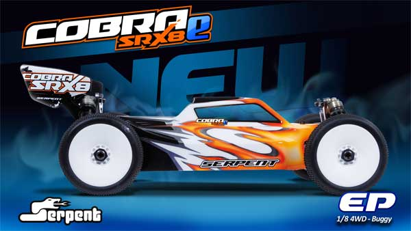 Serpent Cobra SRX8E promo website online