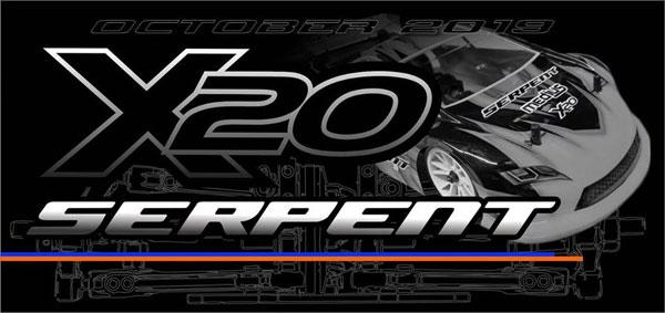 Serpent Medius X20 1/10 EP 4WD Tourenwagen