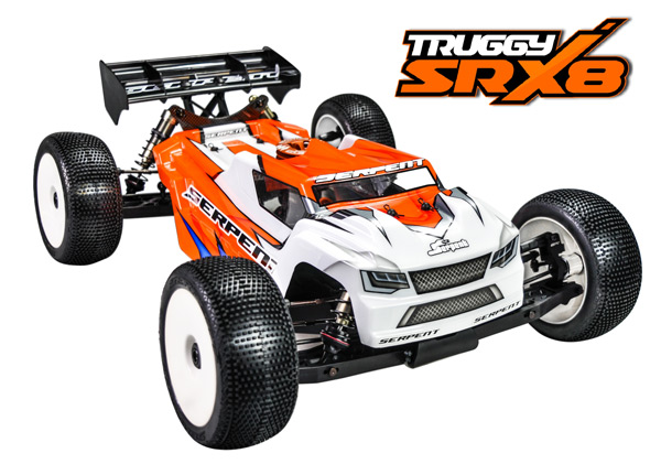 Serpent Cobra SRX8-T Nitro Truggy kit