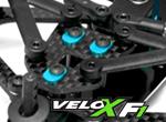 Shepherd Micro Racing Velox F1 Alu Nachlauf-Exzenter Sets