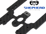 Shepherd Micro Racing Velox V10 �WC� 3mm Radioplatte