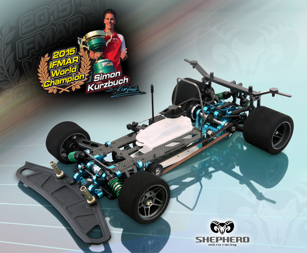 Shepherd Micro Racing Velox V8 'Worlds Edition'