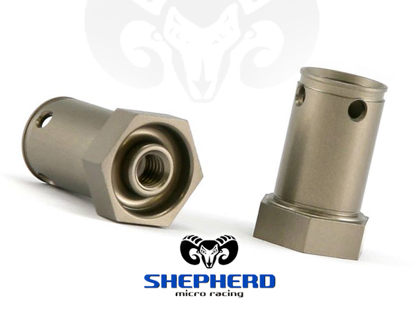Shepherd Micro Racing Kurze Alu Radachsen V10