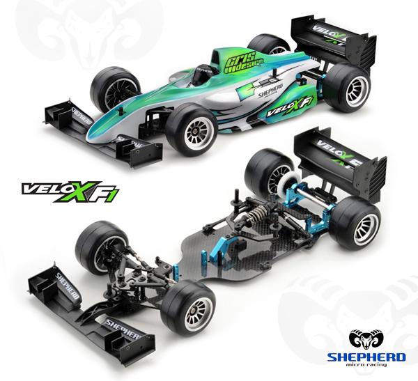Shepherd Micro Racing Velox F1 2016/2017 specs