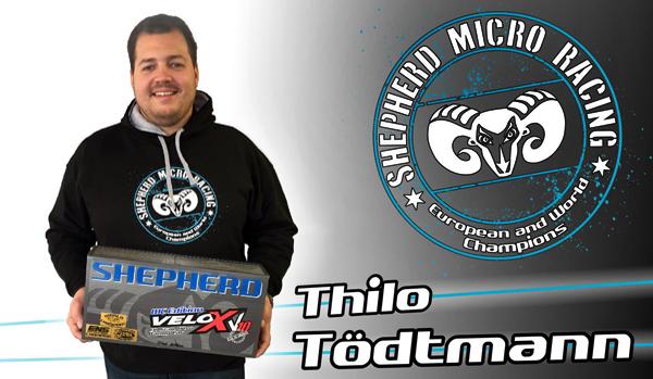 Shepherd Micro Racing T.Tödtmann joins Team Shepherd