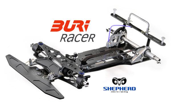 Shepherd Micro Racing BURI-Racer E1.2 Chassis Kit