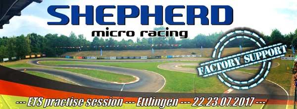 Shepherd Micro Racing ETS practise in Ettlingen