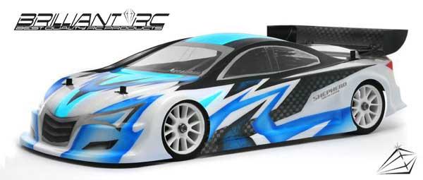 Shepherd Micro Racing Brilliant RC-TCX Karosserie für Xray