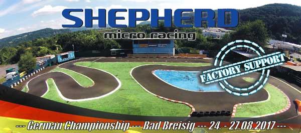 Shepherd Micro Racing Factory Support in Bad Breisig