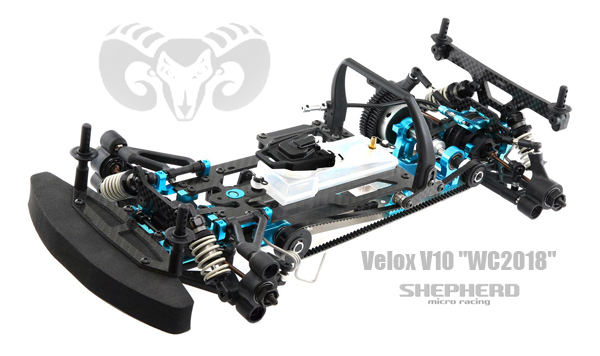 Shepherd Micro Racing Velox V10 WC2018