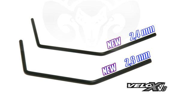 Shepherd Micro Racing Neue Stabi´s Velox V 8