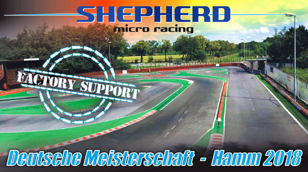 Shepherd Micro Racing Factory Support DM Hamm 2018