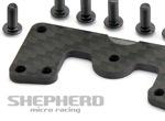 Shepherd Micro Racing Radioplatte Versteifung Velox V10