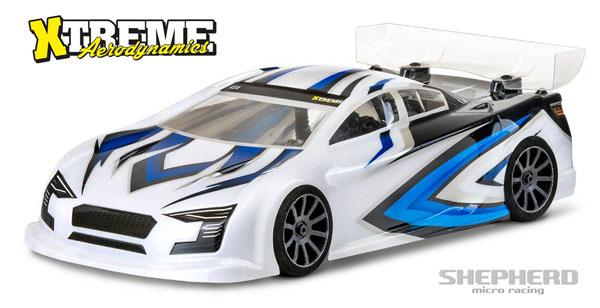 Shepherd Micro Racing CZ1 1/10. Nitro Karosserie