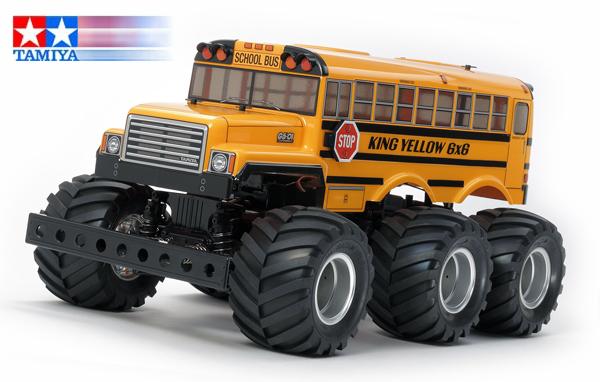 Tamiya King Yellow 6x6 Bus (G6-01)