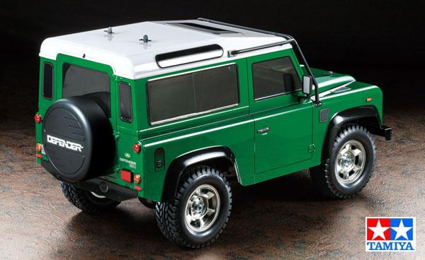 Tamiya Land Rover Defender 90 CC-01