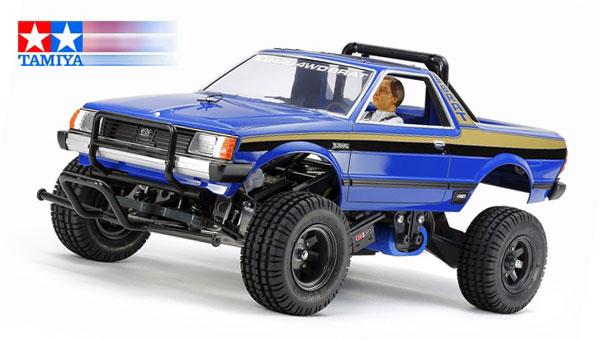 Tamiya Subaru Brat Blue Version