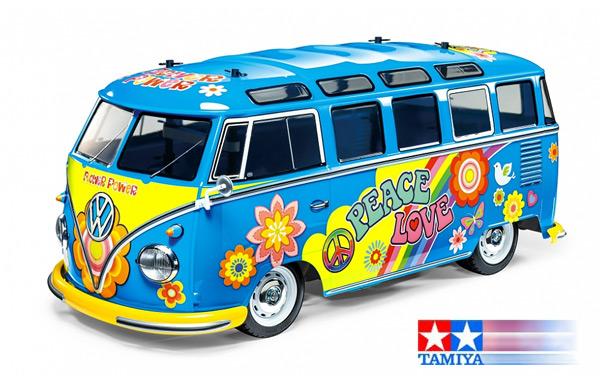 Tamiya VW Bus T1 Flower Power