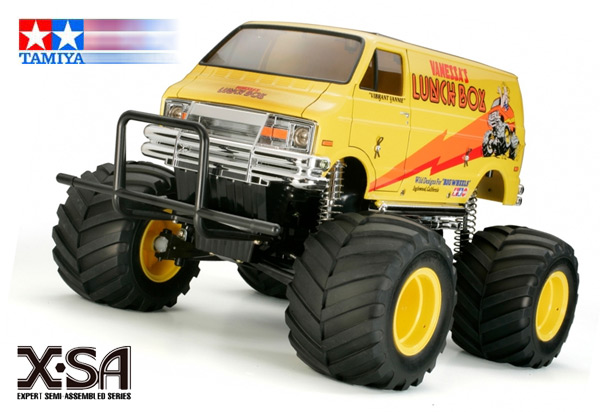 Tamiya X-SA Lunch Box 1:12