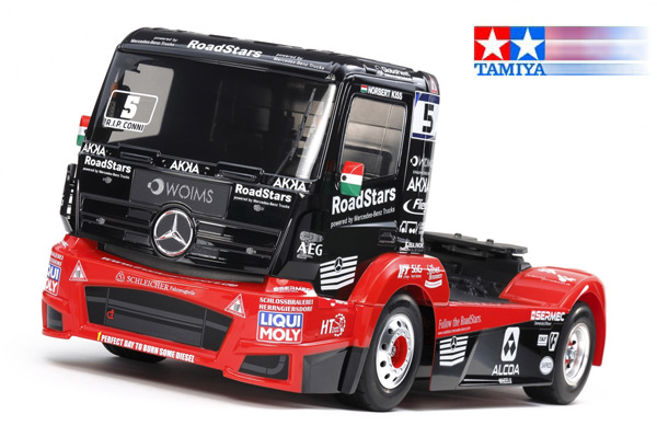 Tamiya M-B Race Truck Actros MP4 TT-01E