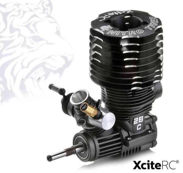 XciteRC Nitro Tiger 28 4,8ccm Motor