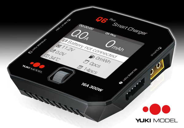 YUKI MODEL Smart Charger Q6 Plus