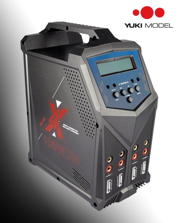 YUKI MODEL Ladegerät CUBE 100 QUAD X4